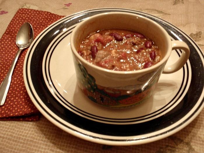Sweet Potato Bacon Chili (Gluten Free, Dairy Free)