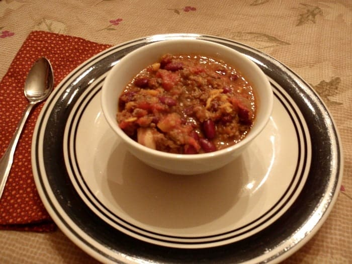 Sweet Potato Bacon Chili (Gluten Free, Dairy Free)