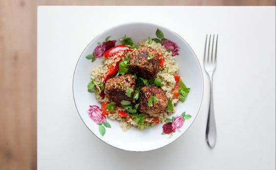Gluten-Free and Vegan Meatballs from Ricki Heller