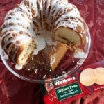 Cream Cheese Pound Cake with Shortbread Streusel Filling