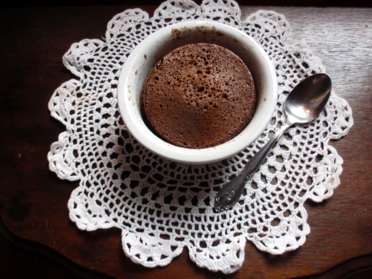 Windy City Cocoa Made Into Gluten-Free Dairy-Free Mug Cake