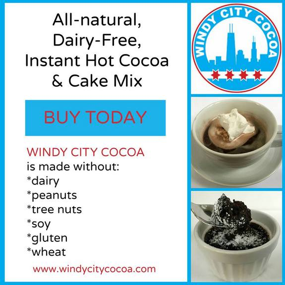 Windy City Cocoa (Gluten-Free, Dairy-Free, Vegan Hot Chocolate) at http://bit.ly/buywccnow