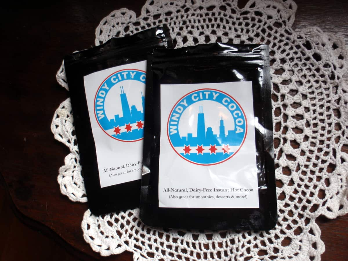 Windy City Cocoa Dairy-Free Hot Chocolate Packages