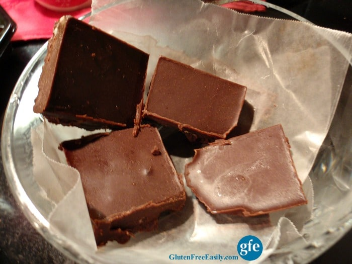 Ready to eat! Rich, indulgent, and melt-in-your-mouth Triple Chocolate Double Bacon Freezer Fudge! (photo)