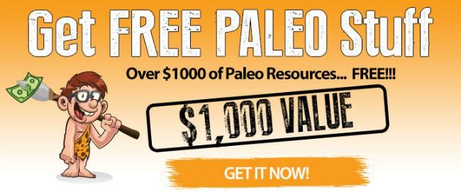 Free Paleo Bundle for You--$1,000 Value