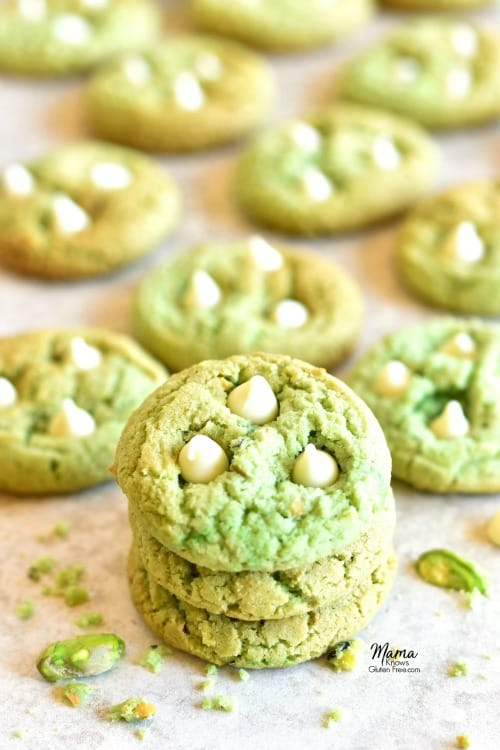 Gluten-Free Pistachio Cookies Photo