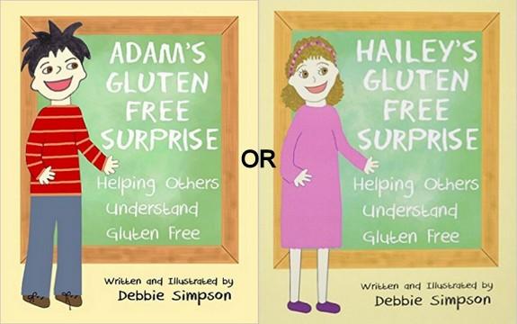 Adam's and Hailey's Gluten-Free Surprise Collage