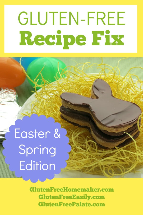 A treasure trove of fantastic seasonal recipes! Gluten-free Easter and Spring recipes for Gluten-Free Recipe Fix.