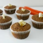 Gluten-Free Carrot Ginger Muffins for March Muffin Madness
