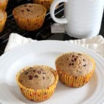 Gluten-Free Chai-Spiced Muffins with Cacao Nibs for March Muffin Madness