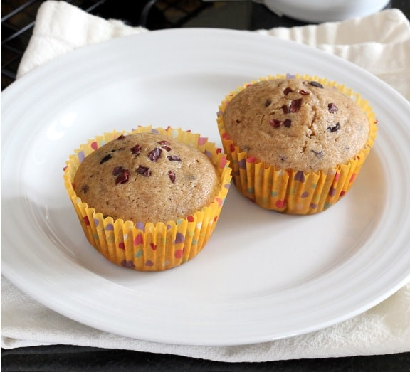 Gluten-Free Chai-Spiced Muffins with Cacao Nibs