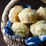 Gluten-Free Cheddar Herb Muffins for March Muffin Madness