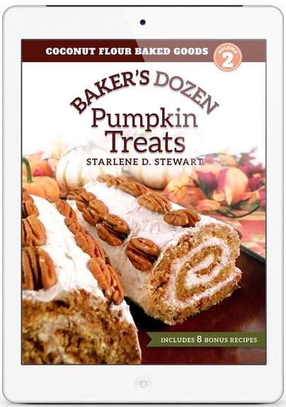 Gluten-Free Coconut Flour Baker's Dozen Pumpkin Treats