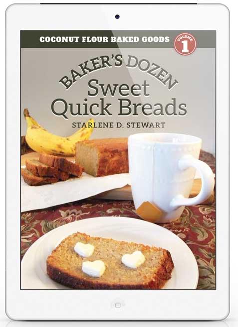 Gluten-Free Coconut Flour Baker's Dozen Quick Breads