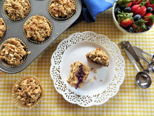 Gluten-Free Nut Butter and Jam Muffins
