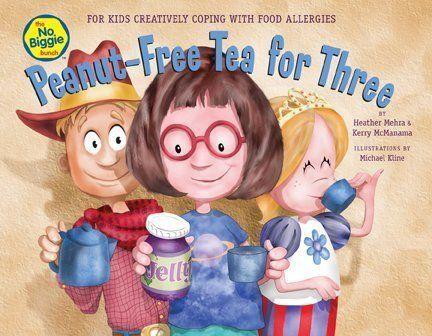 Gluten-Free Peanut-Free Tea for Three The No Biggie Bunch