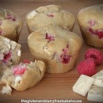 Gluten-Free Raspberry and White Chocolate Muffins for March Muffin Madness