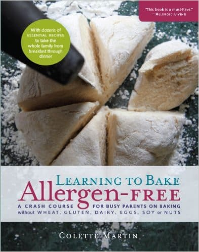 Win it! Learning to Bake Allergen-Free from Colette Martin