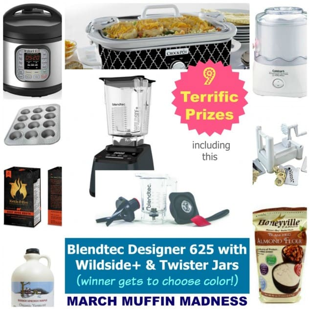 March Muffin Madness Grand Prize Giveaway