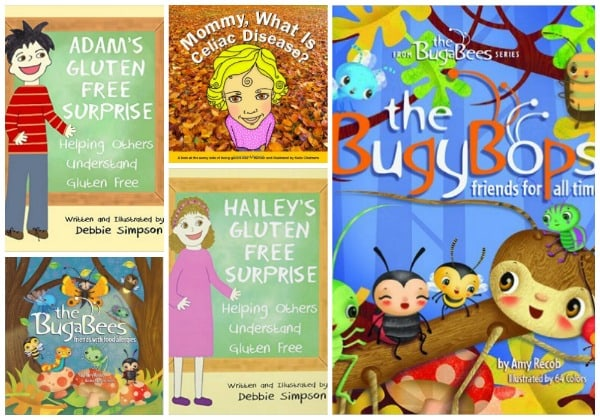 Mommy What Is Celiac? and More Children's Books Collage