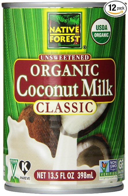 Native Forest Can Coconut Milk