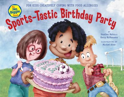 The Biggie Bunch Sports-Tastic Birthday Party