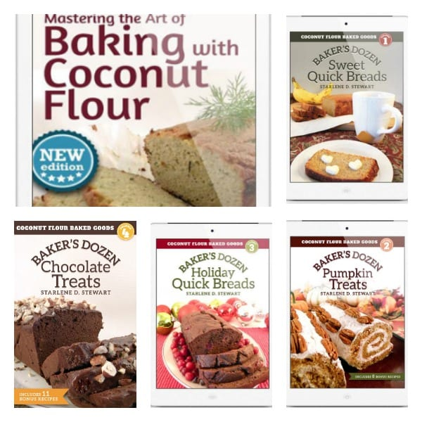 Starlene Stewart's Coconut Flour Cookbook Series