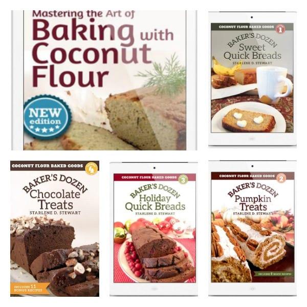 Starlene Stewart's Coconut Flour Cookbook Series