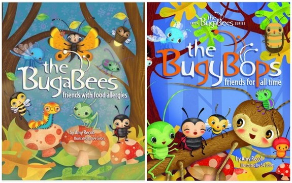 The BugaBees and The BugyBops by Amy Recob