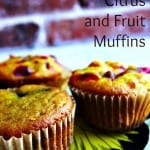 These look so vibrant, so healthy! Paleo Citrus and Fruit Muffins from And Love It, Too! for March Muffin Madness.