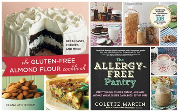 The Gluten-Free Almond Flour Cookbook and The Allergy-Free Pantry