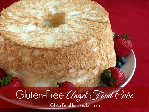 Gluten-Free Angel Food Cake Recipes. I rounded these up fabulous recipes up for you! Full-sized cakes or cupcakes? Your choice. There's even a grain-free angel food cake included here. [from GlutenFreeEasily.com]