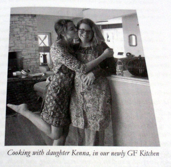 Delise Cooking with One of Her Daughters in Their Newly Gluten-Free Kitchen