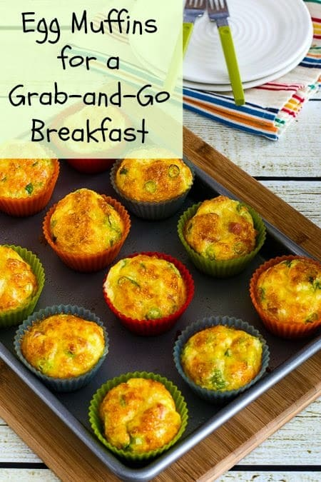 Egg Muffins from Kalyn's Kitchen. One of many fabulous Gluten-Free Mother's Day Brunch Recipes!