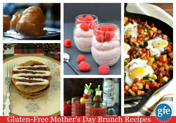 Gluten-Free Mother's Day Brunch Recipes on Gluten Free Easily ... 150 scrumptious recipes in every possible category! Mom will be happy whichever ones you choose!