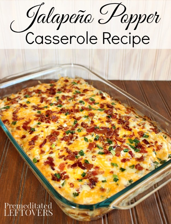 Tater tot and jalapeno popper lovers will think they've died and gone to heaven when they sample this Jalapeno Popper Casserole recipe! A hit every time!