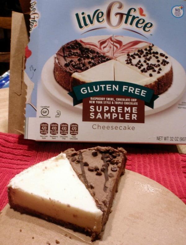 ALDI LiveGFree Cheesecake Sampler in 2015