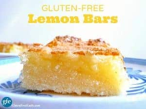 Gluten-Free Lemon Bars. Perfectly lemon and absolutely luscious! (photo)