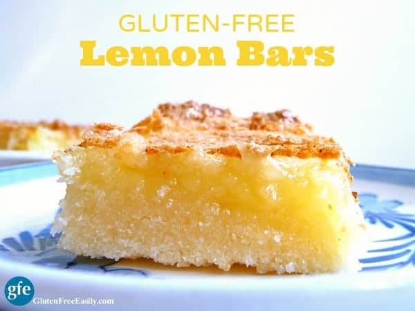 Gluten-Free Lemon Bars. Perfectly lemon and absolutely luscious! (photo)