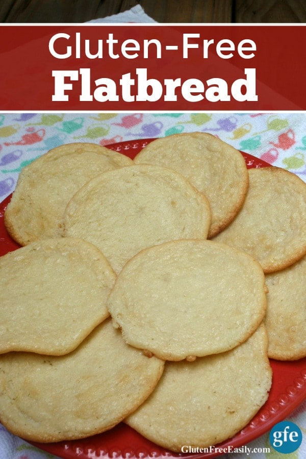 You are going to love adding these Gluten-Free Flatbread Rounds to your repertoire of easy and terrific gluten-free bread recipes! Wonderful on their own or as sandwich rolls. (photo)