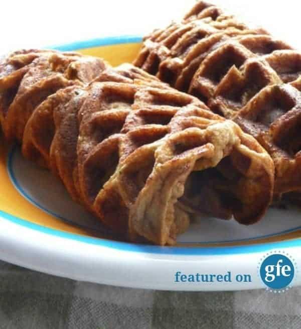 Gluten-Free Paleo Zucchini Coconut Waffle Wraps