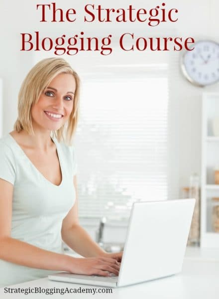 Strategic Blogging Intensive Course