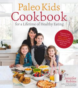 The Paleo Kids Cookbook by Jennifer Robins [featured on GlutenFreeEasily.com] (photo)
