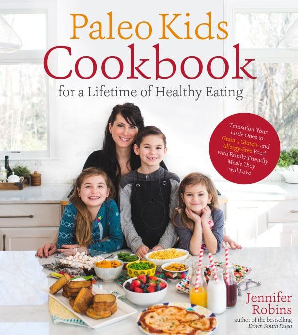 The Paleo Kids Cookbook by Jennifer Robins [featured on GlutenFreeEasily.com] (photo)