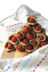 Paleo Pigs in a Blanket! Paleo Piggies if you will! Gluten free, grain free, dairy free, egg free, nut free. [From Predominantly Paleo and featured on GlutenFreeEasily.com] (photo)