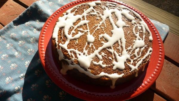 Gluten-Free Pumpkin Kahlua Coconut Cake [from GlutenFreeEasily.com] (photo)