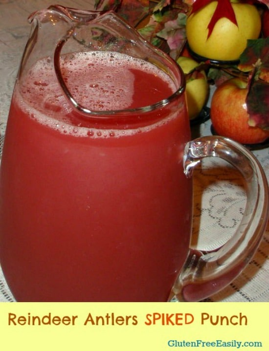 Reindeer Antlers Punch [from GlutenFreeEasily.com] (photo)
