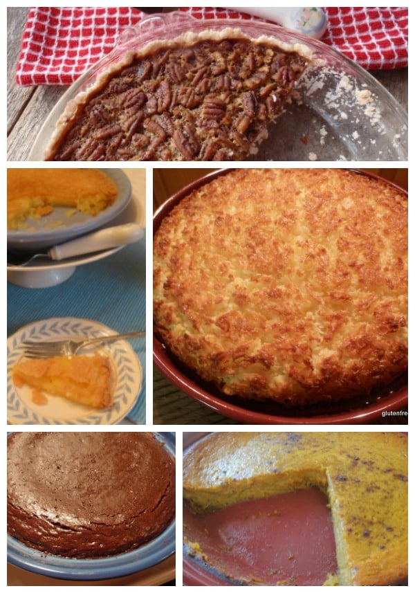 Gluten-free pie recipes galore! Crustless, with crust, raw, no bake, paleo, and more. [from GlutenFreeEasily.com]