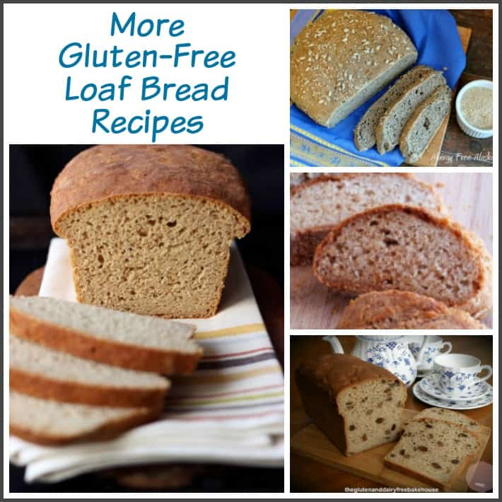 Gluten-free bread recipes on gfe in the Bountiful Bread Basket series. Gluten-Free Loaf Bread Recipes. [featured on GlutenFreeEasily.com]