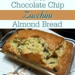 Paleo Chocolate Chip Zucchini Almond Bread